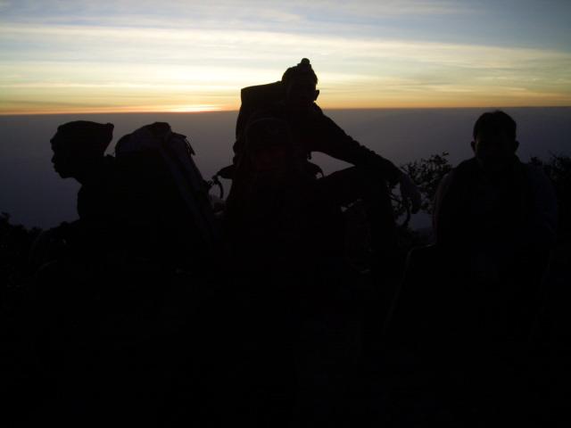 Sunrise Puncak Gunung Welirang