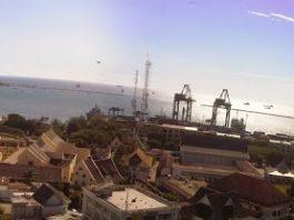 Pemandangan Kota Makassar dari RoofTop Gedung Walikota Makassar