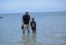 Pantai Ponori, luwu, belopa