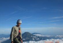 Puncak Gunung Sumbing