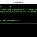 Script Automatic Backup MySQL Database Windows Dengan CMD