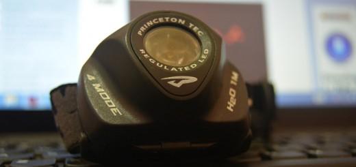 Headlamp Princeton Tech untuk Naik Gunung