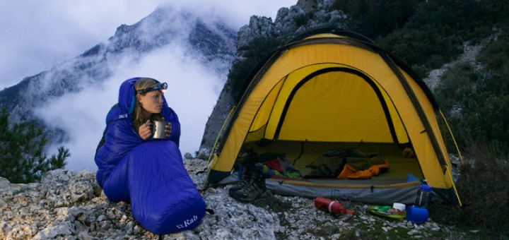Memilih sleeping bag untuk naik gunung