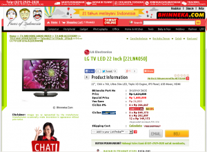 Uneg-Uneg Belanja Online di BHINNEKA.COM