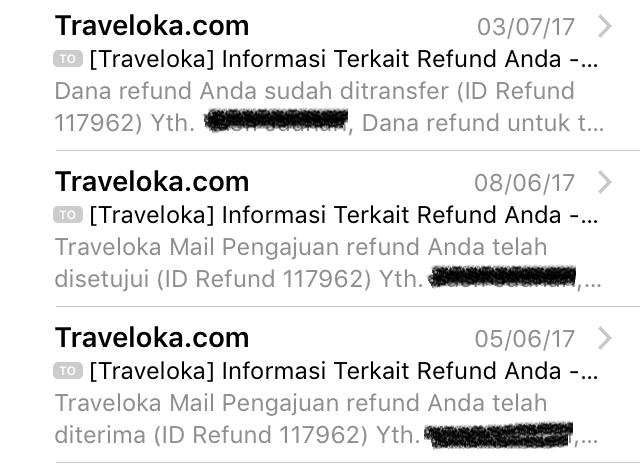 Traveltips Refund Tiket Pesawat Di Traveloka