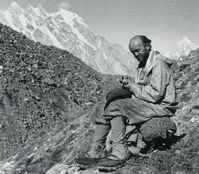 Fritz Wiessner. Misteri K2 yang tak terungkap. 1939