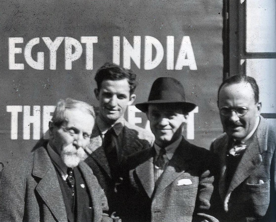 Menuju India. The Last Man On The Mountain - Vittorio Sella, Jack Durrance, Fritz Wiessner, And Dudley Wolfe. 19 Maret 1939