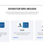Halaman Pendaftaran Seleksi CPNS 2019 sscn.bkn.go.id